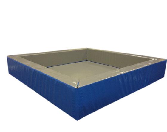 piscine balle s 55 sans balles dim 140 x 140 x 55 cm avec tapis de fond 4 cm ref 50645. Black Bedroom Furniture Sets. Home Design Ideas